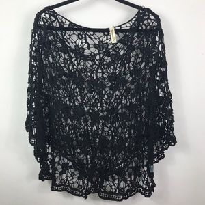 Black Shoreline swimsuit coverup